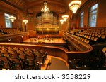 Old Auditorium  Gold And Velve...