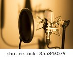 audio recording vocal studio... | Shutterstock . vector #355846079