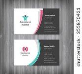 vector abstract creative... | Shutterstock .eps vector #355870421