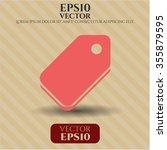 tag symbol | Shutterstock .eps vector #355879595