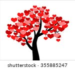 vector illustrations of tree... | Shutterstock .eps vector #355885247