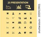 presentation  chart  diagram ... | Shutterstock .eps vector #355915901