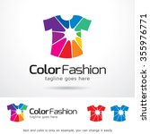 color fashion logo template... | Shutterstock .eps vector #355976771