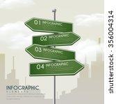 creative infographic design... | Shutterstock .eps vector #356004314