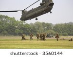 Chinook Helicopter Airlifting...