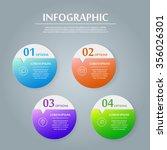 simplicity infographic design... | Shutterstock .eps vector #356026301