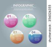 simplicity infographic design... | Shutterstock .eps vector #356026355