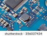 close up technology macro...   Shutterstock . vector #356037434