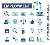 employment  career  human... | Shutterstock .eps vector #356051279