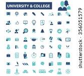university  education  learning ... | Shutterstock .eps vector #356051579