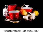 Set Of Coffee. Cup  Sugar Bowl...