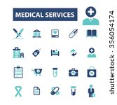 medical consulting  consultant  ... | Shutterstock .eps vector #356054174
