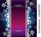 christmas card background... | Shutterstock .eps vector #356069981
