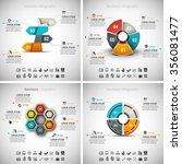 vector set of business... | Shutterstock .eps vector #356081477
