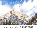 Mont Blanc Mountains. The...