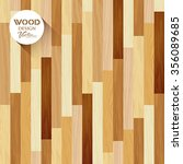 vector wood floor striped... | Shutterstock .eps vector #356089685