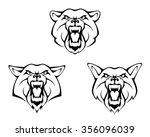 animal head | Shutterstock .eps vector #356096039