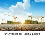Crane And Building Constructio...