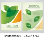 brochure  annual report  flyer  ... | Shutterstock .eps vector #356145761