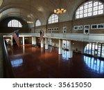 The Great Hall At Ellis Island...