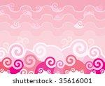 japan background wallpaper | Shutterstock .eps vector #35616001