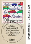 germany   circa 1997  a first... | Shutterstock . vector #356169125