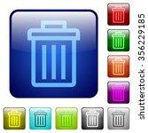 set of delete color glass...