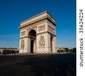 arc de triomphe   arch of... | Shutterstock . vector #35624224