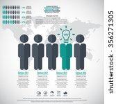 business management  strategy... | Shutterstock .eps vector #356271305