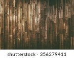 aged wood planks background.... | Shutterstock . vector #356279411