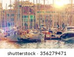 cannes marina french riviera.... | Shutterstock . vector #356279471