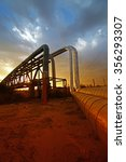oil pipeline  the oil industry... | Shutterstock . vector #356293307