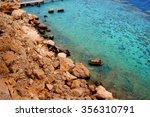 sharm el sheikh sea shore with... | Shutterstock . vector #356310791