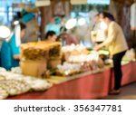abstract blur traditional food... | Shutterstock . vector #356347781