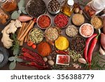 flavorful  colorful spices in... | Shutterstock . vector #356388779