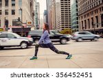 preparing for the run ahead.... | Shutterstock . vector #356452451