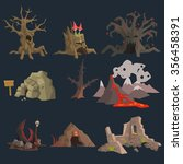 Swamp  Tree And Cave Game...