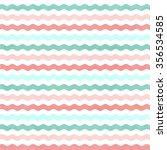 pink   blue retro waves stripes ... | Shutterstock . vector #356534585