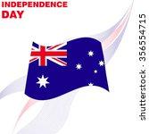australian independence day   Shutterstock .eps vector #356554715