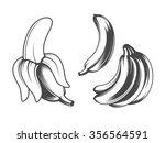 bananas | Shutterstock .eps vector #356564591