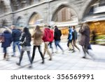 rush hour in the city | Shutterstock . vector #356569991
