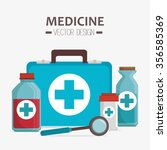 medical healthcare graphic... | Shutterstock .eps vector #356585369
