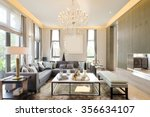 decoration and furniture in... | Shutterstock . vector #356634107