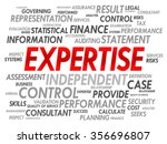 expertise word cloud  business... | Shutterstock . vector #356696807