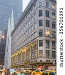 new york  usa   january 3  2015 ... | Shutterstock . vector #356701391