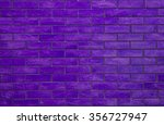 Purple Rectangle Brick Wall ...