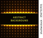 abstract lights gold forms on... | Shutterstock .eps vector #356731931