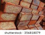 Ground Bricks On A Pallet