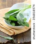 fresh organic green fragrant... | Shutterstock . vector #356818574