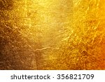 gold foil background texture. | Shutterstock . vector #356821709